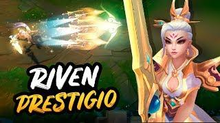 Riven Valiant Sword - Edición Prestigio | Noticias LOL