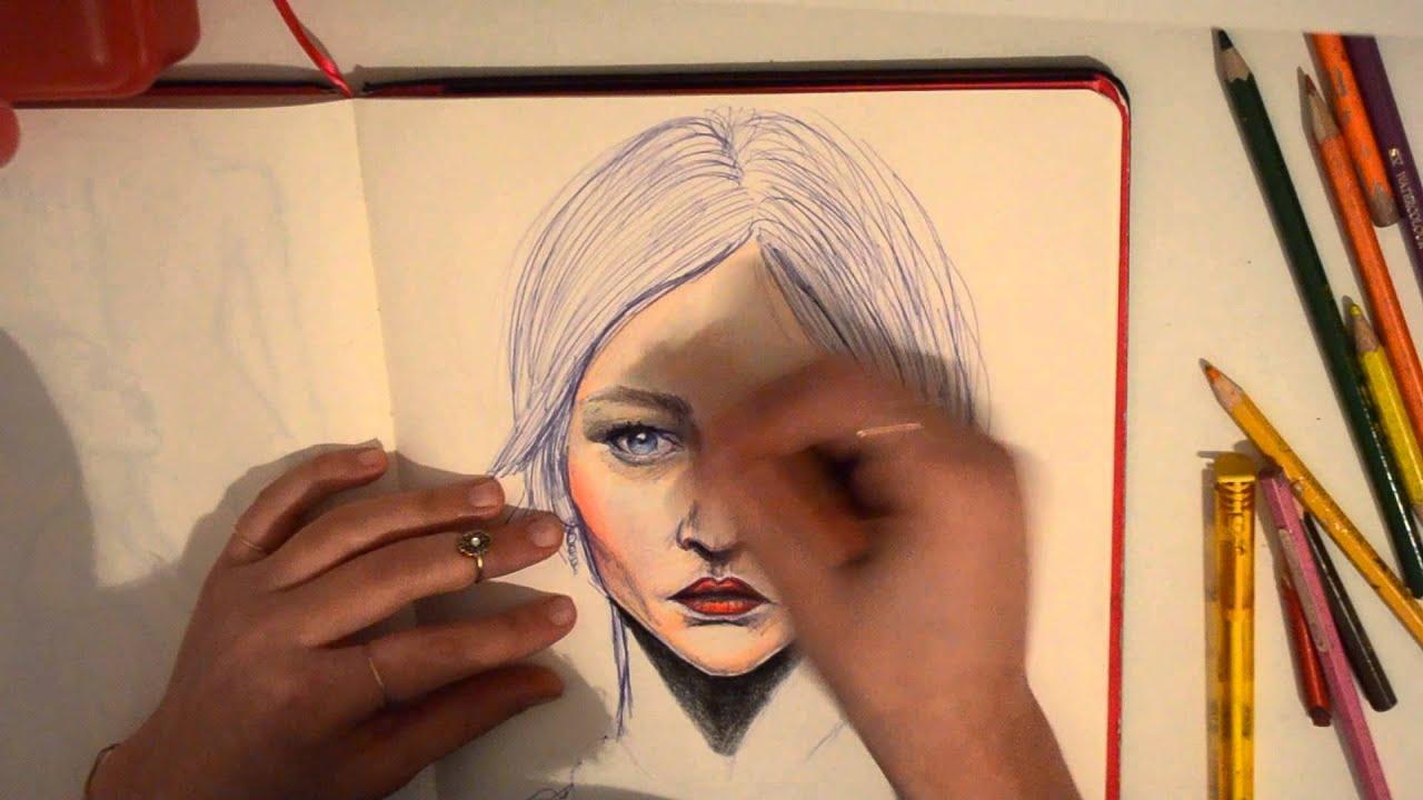 САША sasha pivovarova speed painting youtube