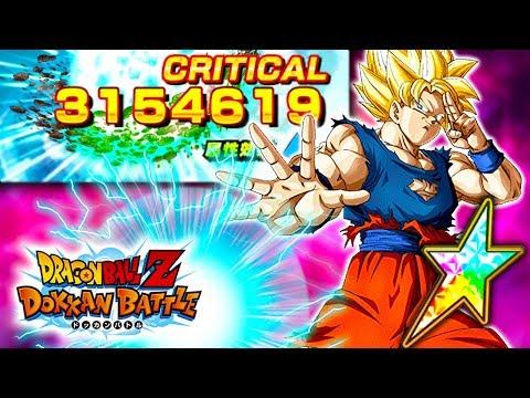 WAS HE WORTH THE ORBS!? 100% F2P SSJ GOKU SHOWCASE! Dragon Ball Z Dokkan Battle!
