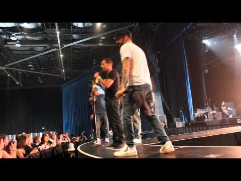 Bsb soundcheck in Seattle- Trust me