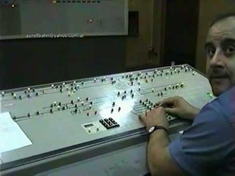 SUBTERRÁNEOS DE BUENOS AIRES Linea ¨B¨      año 1993 y CTC Control de Trafico Centralizado
