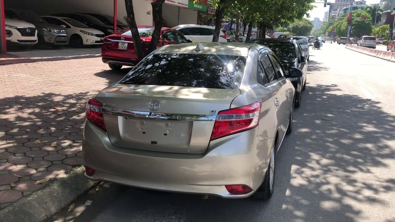 Toyota Vios G 2015 cực đẹp! 180 tr có xe ngay TG 70%. 0939063333