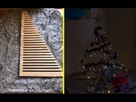 DIY Foldable Christmas Tree for under $20