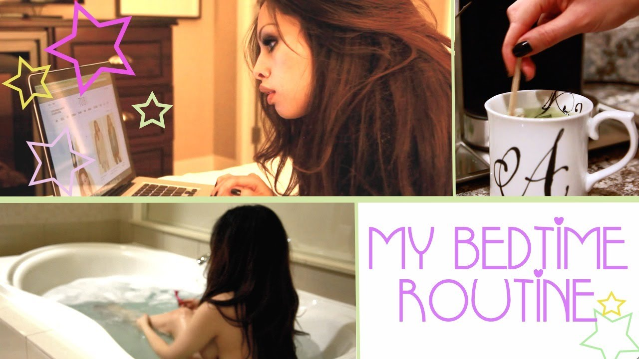 My Bedtime Routine ♡ | AlexandrasGirlyTalk - YouTube