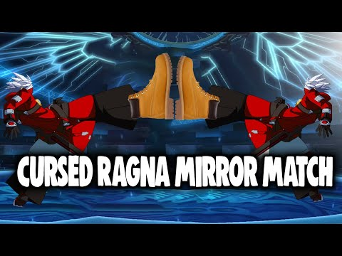 Ragna Mirror Matches Are Hella Cursed.... | Blazblue Central Fiction Online Matches |