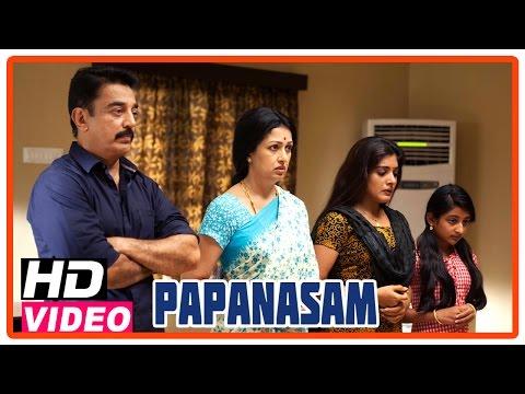 Papanasam Tamil Movie | Scenes | Police takes Kamal Haasan & family in to custody | Asha Sarath