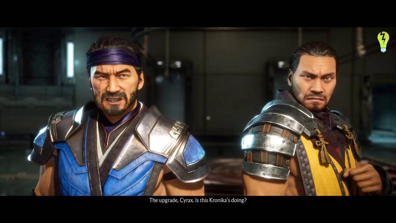 Mk 11 Chapter 4 Sub Zero Scorpion Mortal Kombat 11 Story No