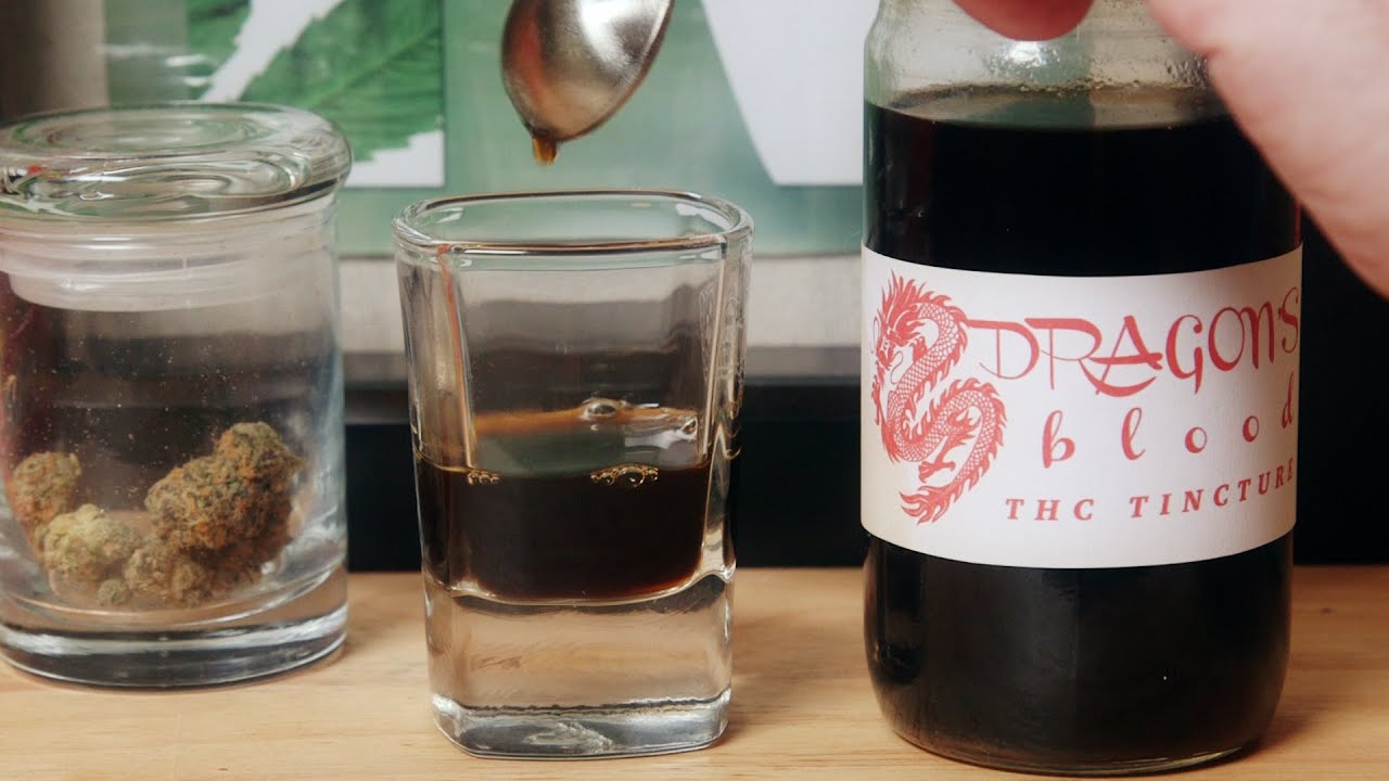 Dragons Blood THC Elixir: Cinnamon Alcohol Marijuana Tincture - Infused Eats #1