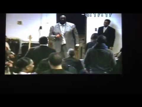 Marcus Allen at faith Canaan baptist church