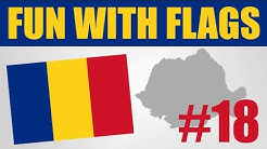 Fun With Flags #18 - Romania Flag