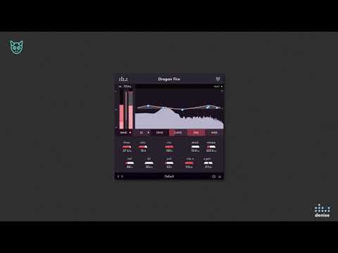 Shape the sound of the Compressor with the Dragon Fire