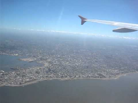 Montevideo from the air