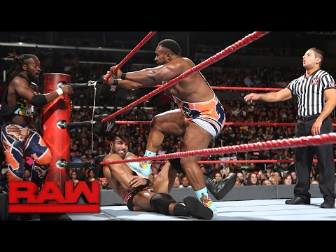 The New Day vs. Rusev & Jinder Mahal: Raw, Feb. 20, 2017