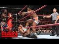 The New Day vs. Rusev Jinder Mahal Raw, Feb. 20, 2017