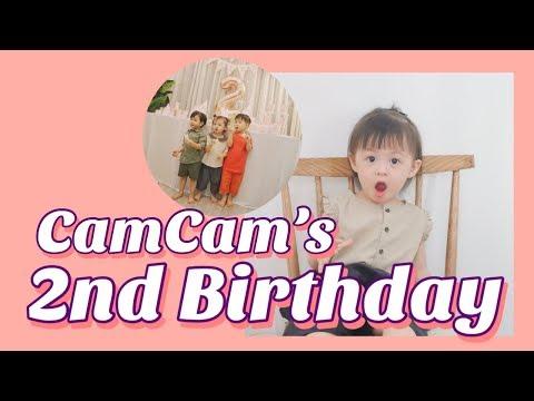 Sinh Nhật CamCam 2 tuổi   CamCams 2nd Birthday   Gia Đình Cam Cam Vlog 38