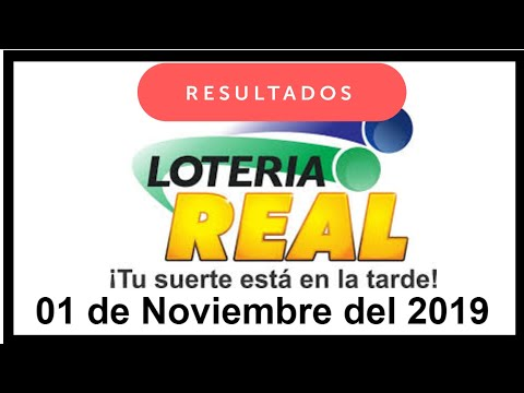 Lotería Real Resultados De Hoy 01 De Noviembre Del 2019 Lotería Dominicana