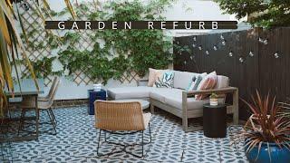 GARDEN OVERHAUL FOR SUMMER WITH WEST ELM // REFURBISHING OUR GARDEN (AD)