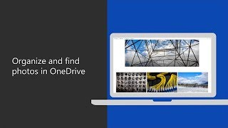 How to organize and find photos in OneDrive