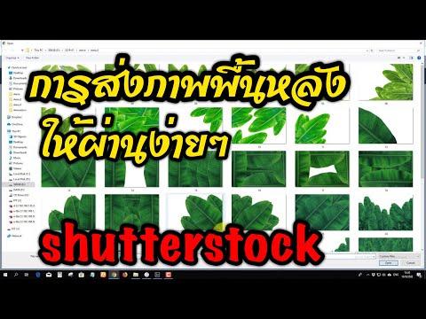 EP4 การส่งภาพขายออนไลน์ shutterstock ภาพตัดพื้นหลัง