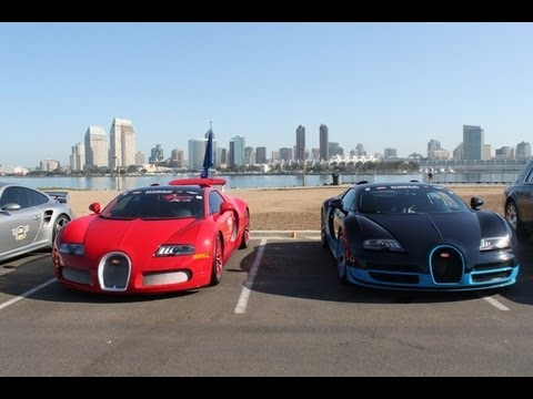 Exotic Car Rally Movie! Cruise 4 Kids 2013 (Bugattis, Ferraris ... on