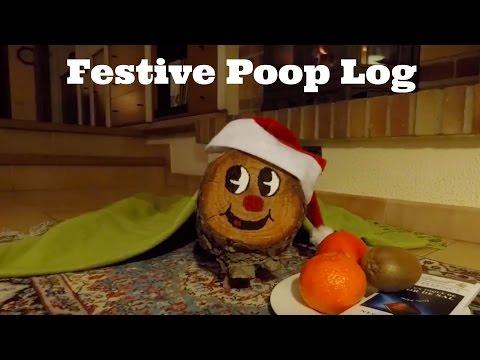 Tio de Nadal (Caga Tio) - Whacking of the Festive Poop Log