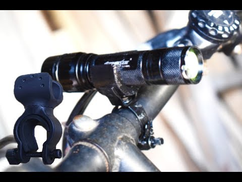 Bicycle Mount For Flashlight/Bike Flashlight Holder