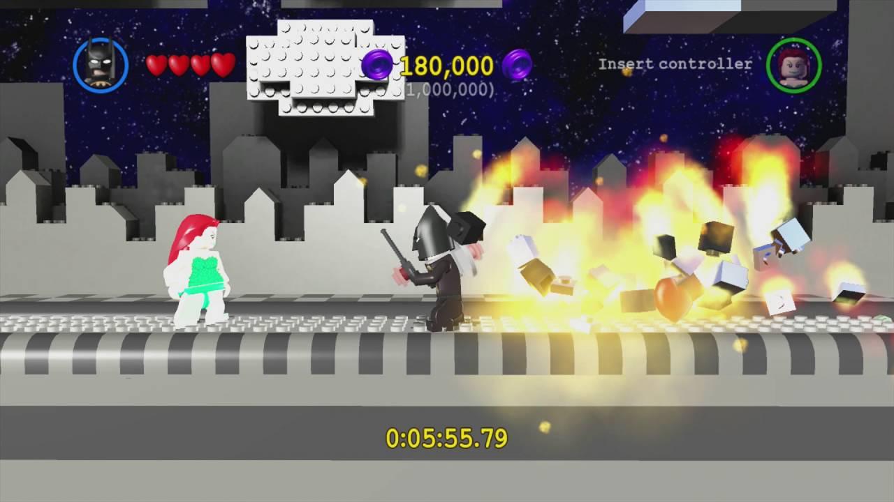 LEGO Batman: The Videogame ~ Hero Bonus Level: Wayne Manor ...