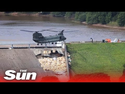 RAF Chinook assists