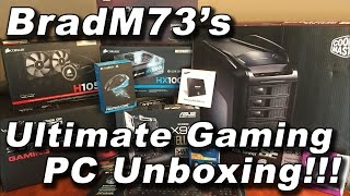 My Ultimate Gaming PC Build - 2015 - The Unboxing!!!