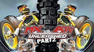 MX vs ATV Unleashed! - Gameplay/Walkthrough - Part 2 - Huge Downhill Quad!
