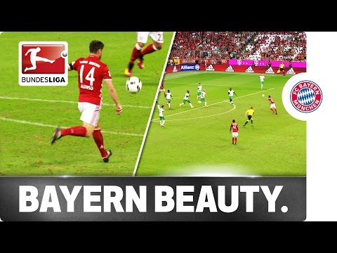 Xabi Alonso's Wonder Goal Opens the 54th Bundesliga Season