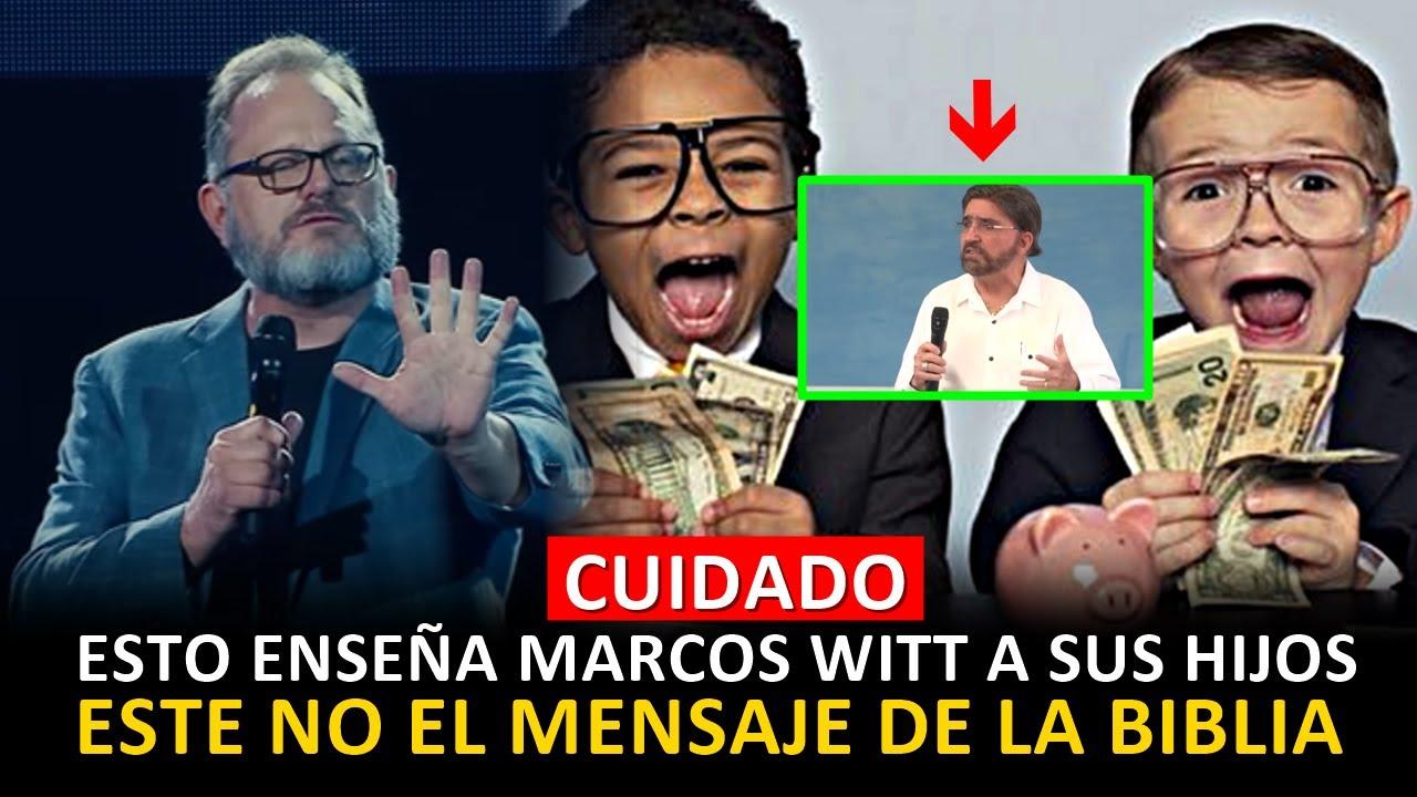 MARCOS WITT ENSEÑA A WITT A SUS HIJOS A CONDICIAR EL DINERO _ FUERTE REPRENSION