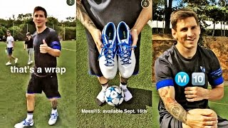 New Messi Boots: White Adidas Messi 2015-2016 On Periscope