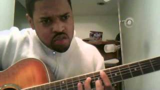 """How to Play """"Lately"""" by Stevie Wonder on Guitar - Lesson 1"""