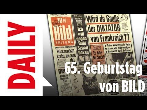 BILD Zeitung feiert 65. Geburtstag - BILD Daily Live 22.06.2017