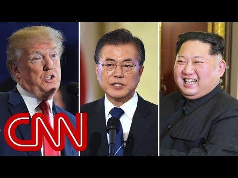 Trump calls South Korean president after historic summit