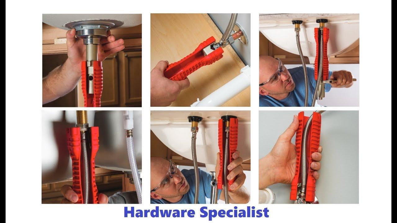 ridgid ez change faucet tool sink installer 57003