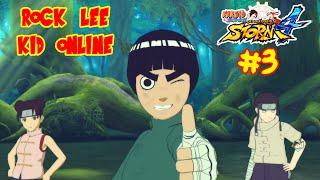 Naruto Shippuden Ultimate Ninja Storm 4 : ROCK LEE - NI EL LAG ME PARARA COMBO SUPREMO - ONLINE #3