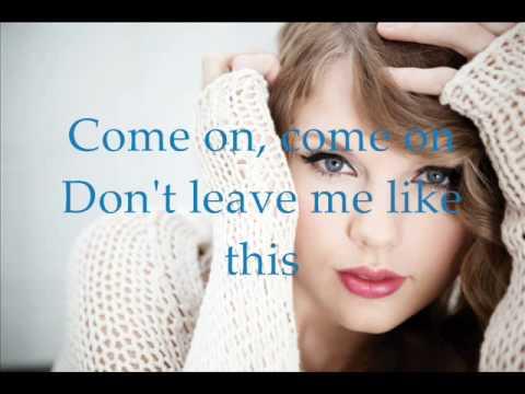 Taylor Swift - Haunted with Lyrics