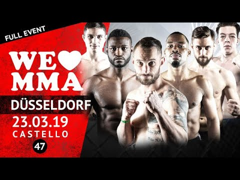 FULL EVENT❗️  Mixed Martial Arts aus Düsseldorf bei We love MMA 47