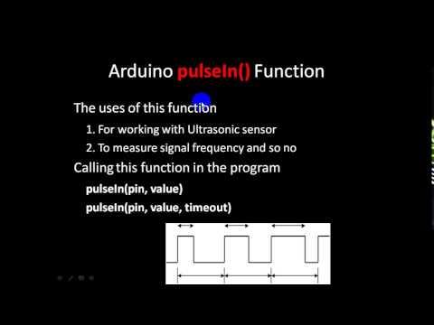 Arduino PulseIn() Function