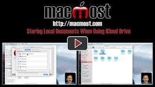 Storing Local Documents When Using iCloud Drive (#1436)