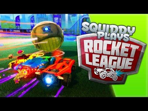 SquiddyPlays - ROCKET LEAGUE - It's Too EASY! [3] W/AshDubh