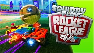 SquiddyPlays - ROCKET LEAGUE - It's Too EASY! [3] W/AshDubh