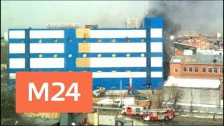 """Один человек пострадал при пожаре в столичном ТЦ """"Персей для детей"""" - Москва 24"""