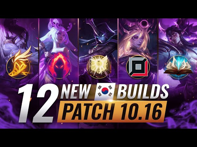 12 NEW BROKEN Korean Builds YOU SHOULD ABUSE in Patch 10.16 - League of Legends Season 10