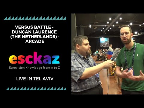 ESCKAZ in Tel Aviv: Versus battle - Duncan Laurence (The Netherlands) - Arcade