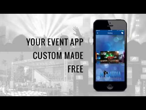 Event App for Event Production absolutely FREE by MiMedia Productions