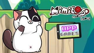 """ADORABLE CAT GAME!"" | Mimitos | (App Games) | Marielitai Gaming"
