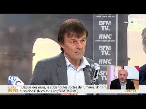 Nicolas Hulot face aux rumeurs de harcèlement - C à Vous - 08/02/2018